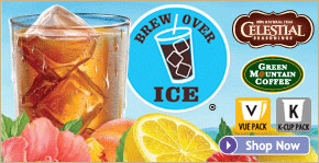 Brew Over Ice Coffee and Tea K-Cups