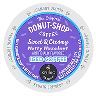 Coffee People - Sweet & Creamy Nutty Hazelnut Iced Coffee K-Cups