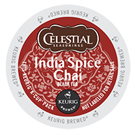 Celestial Seasonings - India Spice Chai Tea K-Cups