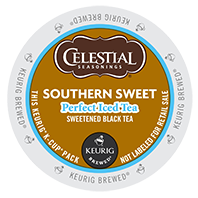 Celestial Seasonings - Southern Sweet Perfect Iced Tea K-Cups