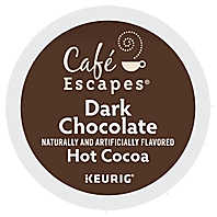 Café Escapes - Dark Chocolate Hot Cocoa K-Cup Packs