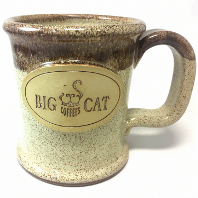 Big Cat Coffees - Stoneware 14oz Mug - Executive Slim