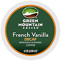 Green Mountain Coffee - Decaf French Vanilla K-Cup Packs