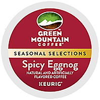 Green Mountain Coffee - Fair Trade Spicy Eggnog K-Cup Packs