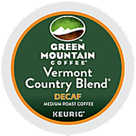 Green Mountain Coffee - Decaf Vermont Country Blend K-Cup Packs