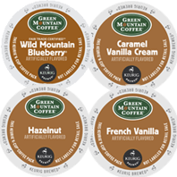Green Mountain Coffee - Flavored Sampler Pack K-Cups