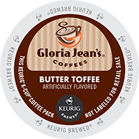 Gloria Jean's - Butter Toffee K-Cups