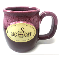 Big Cat Coffees - Stoneware 16oz Mug - Java Taster