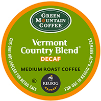 Green Mountain Coffee - Decaf Vermont Country Blend K-Cups
