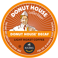 Donut House Collection - Donut House Decaf K-Cups