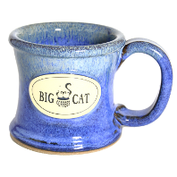 Big Cat Coffees - Stoneware 10oz Mug - Wide Awake
