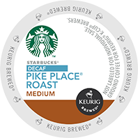 Starbucks® - Decaf Pike Place® Roast K-Cups