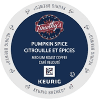 Timothy's Pumpkin Spice K-Cup Packs