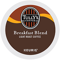 Tully's - Breakfast Blend K-Cup Packs