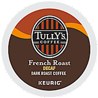 Tully's - Decaf French Roast K-Cup Packs