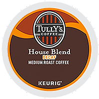 Tully's - Decaf House Blend K-Cups