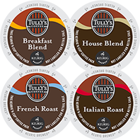 Tully's - Coffeehouse Collection K-Cup Packs
