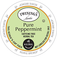 Twinings - Pure Peppermint Herbal Tea K-Cups