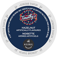 Timothy's - Hazelnut K-Cup Packs