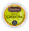 Celestial Seasonings - Decaf Authentic Green Tea K-Cups