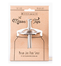 Cuppow - The Mason Tap - Stainless Steel Infuser Cap