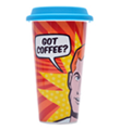 DCI - I Am Not a Paper 12oz Cup - Pop Art