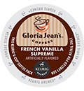 Gloria Jean's - French Vanilla Supreme K-Cups