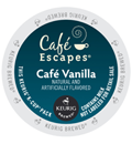 Café Escapes – Café Vanilla K-Cups