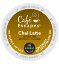 Café Escapes - Chai Latte K-Cups