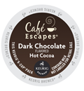 Café Escapes - Dark Chocolate Hot Cocoa K-Cups