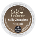 Café Escapes - Milk Chocolate Hot Cocoa K-Cups