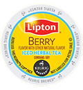 Lipton - Berry Iced Herbal Tea K-Cups