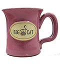 Big Cat Coffees - Stoneware 12oz Mug - Greek Goddess