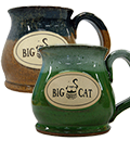 Big Cat Coffees - Stoneware 12oz Mug - The Potbelly