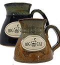 Big Cat Coffees - Stoneware 14oz Mug - The Traveler