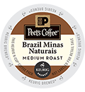 Peet's Coffee & Tea - Brazil Minas Naturais K-Cups
