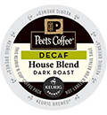 Peet's Coffee & Tea - Decaf House Blend K-Cups