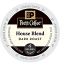 Peet's Coffee & Tea - House Blend K-Cups