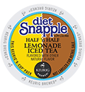 Snapple - Diet Half N Half Lemonade Iced Tea K-Cups