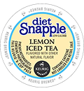 Snapple - Diet Lemon Iced Tea K-Cups