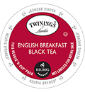 Twinings - English Breakfast Black Tea K-Cups