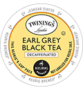 Twinings - Decaf Earl Grey Black Tea  K-Cups