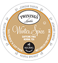 Twinings - Winter Spice Herbal Tea K-Cups