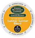 Green Mountain Coffee - Fair Trade Summer Sunrise Blend K-Cups